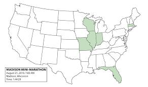 Madison Wi Map Wisconsin 2010 Madison Mini Marathon Dan U0027s Marathon