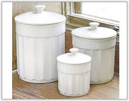 white canisters for kitchen blue and white kitchen canisters home design ideas