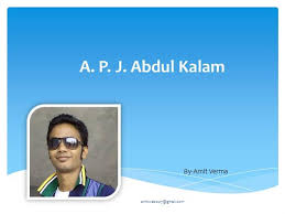 dr a p j abdul kalam authorstream