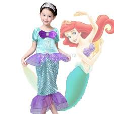 Mermaid Costumes Child Little Mermaid Costumes Compare Prices On Ariel Costume Girls Online Shopping Buy Low