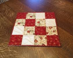 quilted table topper table topper quilted