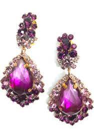 dramatic earrings earrings coutura vintage