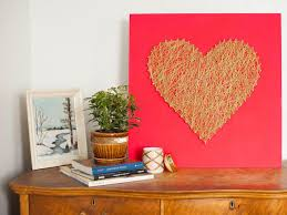 home made decoration things 14 diy valentine u0027s day decorations you u0027ll love hgtv u0027s decorating