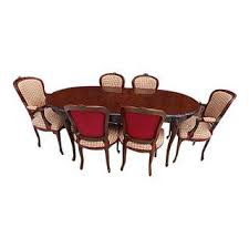 dining room furniture sets vintage used dining table chair sets chairish