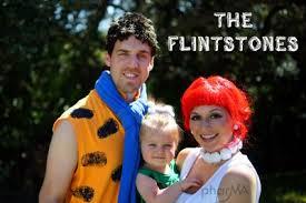Flinstone Halloween Costume Flintstones Family Halloween Costumes Fun Family Crafts
