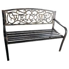 black cast iron garden bench black garden bench uk black garden