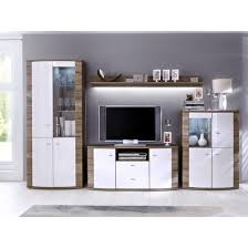 White Living Room Furniture Living Room Kaunas Living Room Furniture Set In White Gloss Front