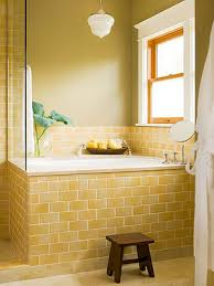 yellow tile bathroom ideas bathroom subway tile ideas