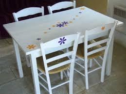 table blanche de cuisine table de cuisine blanche maison design wiblia com