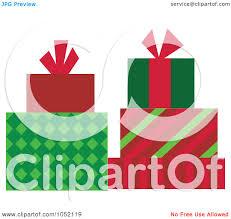 royalty free vector clip art illustration of organized christmas