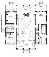 Open Floor Layout Home Plans Plan 44091td Designed For Water Views Scale Bedrooms And Kitchens