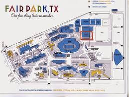 Dallas Texas Map Fair Park Dallas Map Fair Park Parking Map Texas Usa