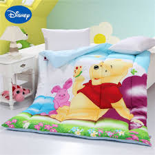winnie pooh piglet print comforters girls cotton covers autumn