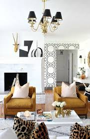 hollywood regency living room home decor and interior decorating