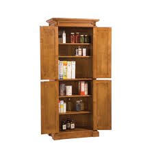 wood pantry cabinet for kitchen home styles distressed oak pantry 5004 69 the home depot