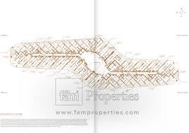 floor plan mina palm jumeirah dubai