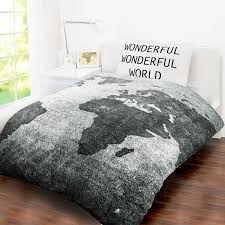 World Map Duvet Cover Uk by Children Teenage Kids Boys Girls Single Quilt Duvet Cover Bedding