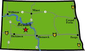 beulah dakota map morgys guide service