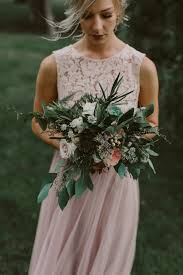 Wedding Flowers Greenery Canadian Wedding With Greenery Galore Ruffled