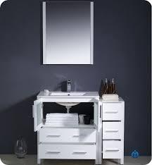 42 Inch Bathroom Vanity Cabinet Bathroom Vanity With Side Cabinet Bathroom Gregorsnell Bathroom