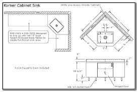 Kitchen Sink Cabinet Corner Kitchen Sink Base Cabinet Astonishing 28 Measurements Shop