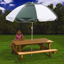 Kids Patio Table by Nice Looking Childrens Picnic Table Umbrella 93 By Glamorous Side