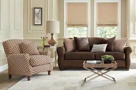 Saddle Brown Leather Sofa Accent Chairs With Leather Sofa Rattan Wicker Storage Side Table