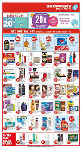 Shoppers Rug Mart Shoppers Drug Mart On Flyer August 6 To 12