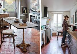 quelle couleur pour une cuisine le sol est en tomette et les