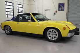 porsche 914 yellow sold classics legendary classics