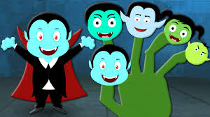 kids halloween clipart vampire finger family scary nursery rhymes for kids halloween