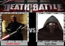 Darth Maul Meme - death battle darth maul vs kylo ren by supermariofan65 on deviantart