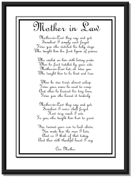 Gifts For Mothers At Christmas - such a must mother in law poem diy printable 10 00 via etsy