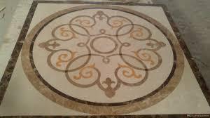 2016 floor paving tile home decor dia 150cm marble waterjet