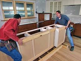 Installing A Kitchen Island Installing A Kitchen Island 28 Images Curved With Regard To With