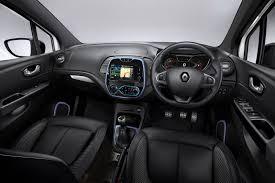 renault 4 interior renault updates its captur range in britain