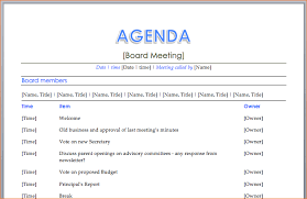 Banquet Program Templates 11 How To Create A Meeting Agendaagenda Template Sample Agenda