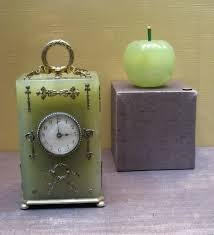 file bovenite desk clock and glue pot faberge jpg wikimedia