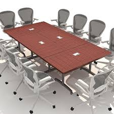Portable Meeting Table Modern Wood Conference Table Seater Glass Oval Portable Boardroom