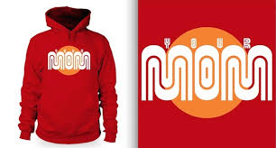 new sweatshirt features muni worm your mom
