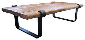 rustic metal coffee table rustic wood and iron coffee table furniture favourites