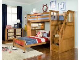 Bunk Beds And Desk Stair Loft Schoolhouse Ne Kids