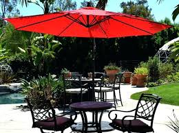 Offset Patio Umbrellas Clearance by Patio Allen Roth Offset Patio Umbrella With Base Offset Patio