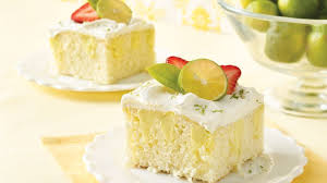 key lime poke cake recipe bettycrocker com