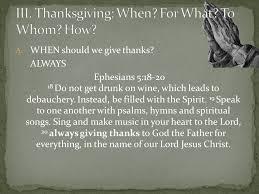 thanksgiving an attitude of gratitude ppt