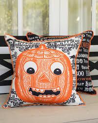 Cheap Halloween Home Decor by Decorative Indoor Outdoor Halloween Pillow Balsam Hill Halloween
