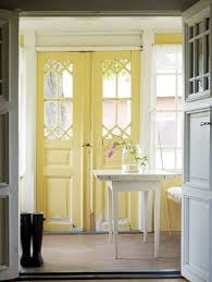 Narrow Doors Interior by Beautiful Old Doors Yellow Interior Door Paint Walls Grey And