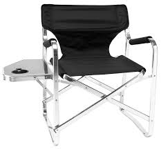 Quest Traveller Directors Chair And Side Table Folding Directors Chair With Side Table Kingcamp Director Chair