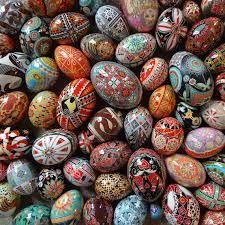ukrainian easter eggs the tips and tricks to pysanky eggs martha stewart