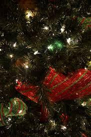 christmas tree ribbon decorations christmas lights decoration